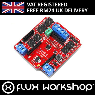 Arduino UNO I/O Sensor Genuine Keyes Shield Funduino RS485 XBee Flux Workshop