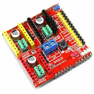 Arduino UNO CNC Shield V2 A4988 3D Printer Engraver 12V Proto GBRL Flux Workshop