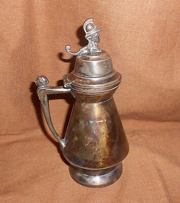 Antique Victorian Syrup Pitcher Southington Cutlery Co. Triple Plated