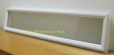 Transom Window 10 x 48 Vinyl Double Pane Sheds Tiny Houses Playhouses Homes