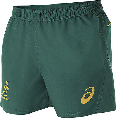 Wallabies 2016 Men's Rugby Shorts by Asics