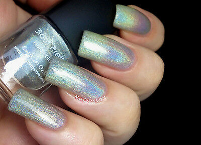 Born Pretty 6ml Holographic Holo Glitter Hologram Nail Art Polish Varnish 1#