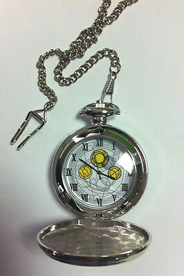 Doctor Who The Master's Fob Watch David Tennant Metal Pocket Watch