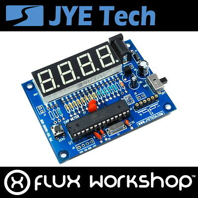 JYE-TECH Capacitance Meter 6002 Prototyping Electronic Capacitor Flux Workshop