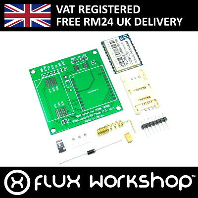 M590 GSM GPRS Unsoldered DIY kit with Antenna SMD SMS 900-1800MM Flux Workshop