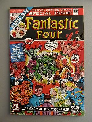 The Fantastic Four #10 King Size Very Fine+ 8.5 Human Torch 1973 Marvel Comics