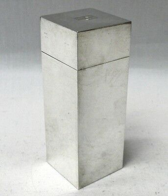 Art Deco Silver Box by Asprey 1934 stock id 8359
