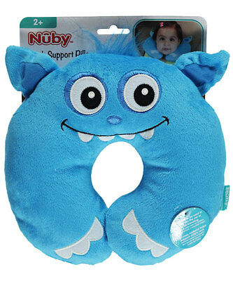 "Nuby ""Friendly Monster"" Neck Support Pillow"