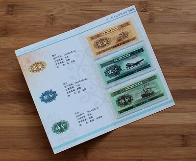 Chine / China - Classeur - Collection - Set 1 / 3 / 5 Fen 1953 - NEUF / UNC