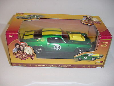 "1/16 Dukes Of Hazzard 1970 Chevy Camaro ""Cooter #99"" NIB! High Detail!"