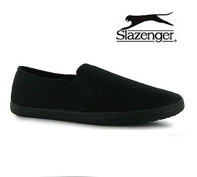 New Slazenger Slip On Canvas Tai-Chi / Kung Fu Shoes  Size Uk 7-12