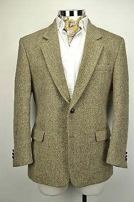 "Harris Tweed Jacket 42"" Short Brown"