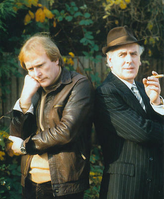 George Cole & Dennis Waterman Unsigned Photo - 4573 - Minder
