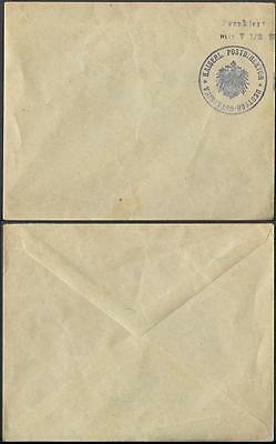 Germany East Africa Colony old Cover with Frankatur postmark pre 1918 unused