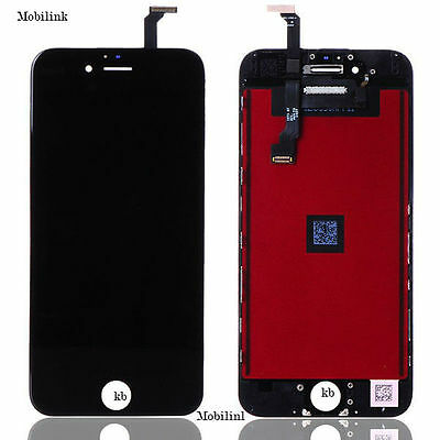 """iPhone 6 4.7"""" Black LCD SCREEN DISPLAY DIGITIZER ASSEMBLY REPLACMENT  OEM"""