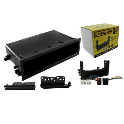 Dna Stereo Install Kit Single/double Din Suit Toyota Landcruiser 80-200 Series