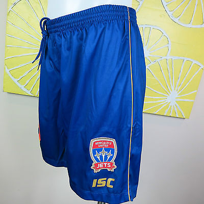 NEWCASTLE JETS home SHORTS   MEN PICK YOUR SIZE SMALL TO 3XL