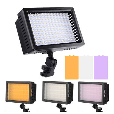 Pro Studio CN-126 LED Video Light for Canon Nikon DSLR Camera DV Camcorder