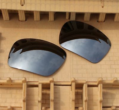 83fcf396d9 BVANQ Polarized Replacement Lenses for-Oakley Triggerman OO9266 Silver  Mirror