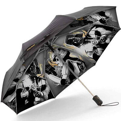 NEW OFFICIAL Star Wars Galactic Empire Classic Retro Compact Umbrella Brolly