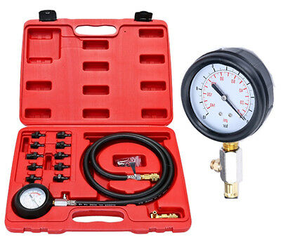 Engine Oil Pressure Tester kit Low Oil Warning Devices Car Garage Tool Set Great