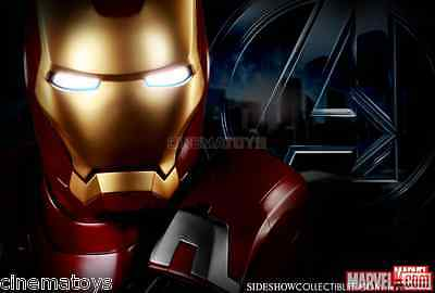 MARVEL Iron Man Mark VII Life Size Bust Sideshow Collectible The Avengers Statue