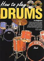 HOW TO PLAY DRUMS for Beginners Book CD Free DVD*