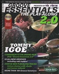 TOMMY IGOE GROOVE ESSENTIALS 2.0 Play Along + CD