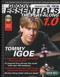 TOMMY IGOE GROOVE ESSENTIALS 1.0 Play Along + CD*