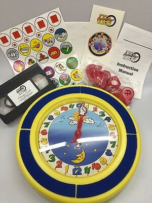 Innovative Activity Clocks Childs Learning The Day Homeschool Daycare New Unused