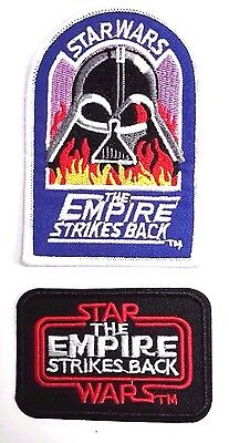 "Star Wars Empire - Vader in Flames 4"" & Title Logo 3"" Patch Set of2 (SWPA-SET01)"