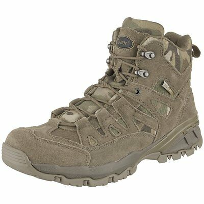 MULTICAM US TACTICAL BOOTS ARMY OUTDOOR STIEFEL Squad 5 inch US 7  EU 40