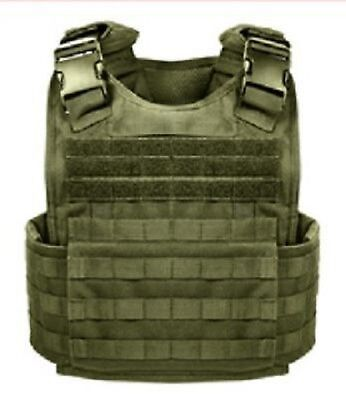 US MOLLE PLATE CARRIER Military Plattenträger Army Weste VEST OD Green oliv