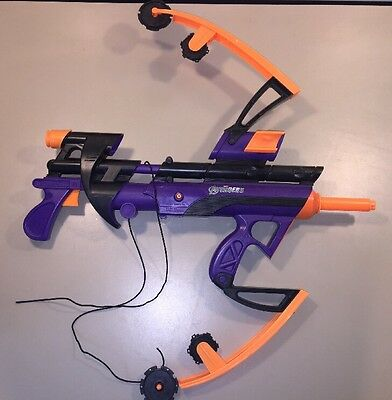 Nerf Avengers Big Bad Bow Gun Special Edition Hawkeye Marvel Toy 2005 Hasbro Htf