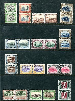 South West Africa 108-120, 1931-37 Pictorials, Most Seten, Used (Id5349)