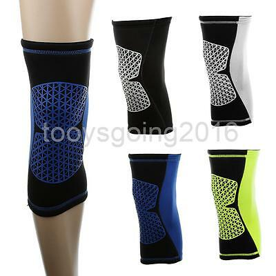 Elastic Basketball Sports Compression Sleeve Knee Patella Injury Support Brace