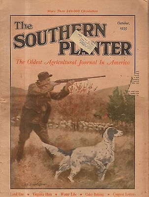 1935 Southern Planter October - Pointer in Action