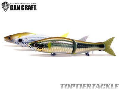 Gan Craft Jointed Claw 148 Slow Sink Swimbait - Select Color
