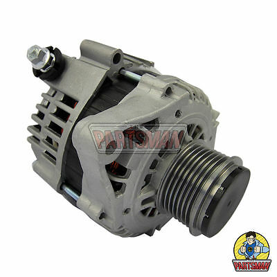 Alternator 12V 110A Hitachi Replacement S-L Connector With Clutch Pulley