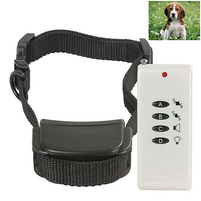 150Yards LCD Electric Shock Pet Dog Training Remote Control E-Collar Waterproof