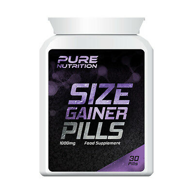 Pure Nutrition Size Gainer Pills – Bodybuilding Pill Extreme Muscle Mass Bulk