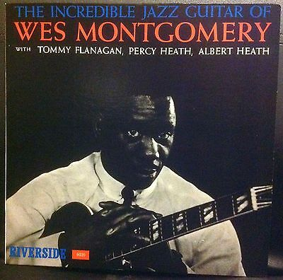 Wes Montgomery - The Incredible Jazz Guitar Of Wes Montgomery - LP - MUS
