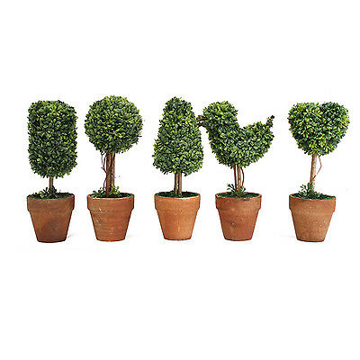 Plastic Garden Grass Ball Topiary Tree Pot Dried Plant for Party Decor N3