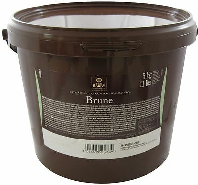 Cacao Barry Brune Pate a Glacer 11 Lbs