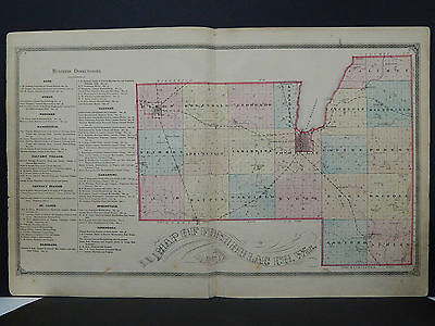 Wisconsin, Fond du Lac County Map 1874, Double Page L21#83