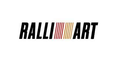 Vinilo de corte PEGATINA RALLIART MITSHUBISHI RALLYES RALLY STICKER DECAL