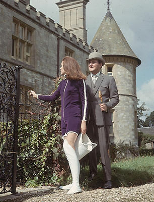 PATRICK MacNEE & DIANA RIGG UNSIGNED PHOTO - 4763 - THE AVENGERS