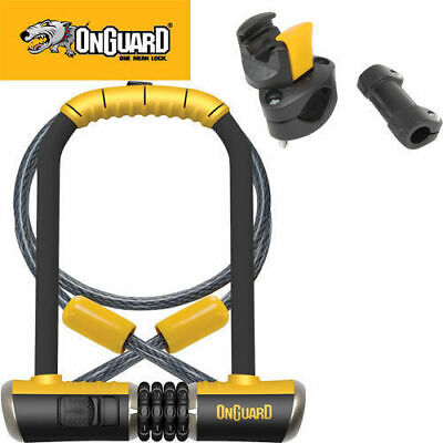 Onguard Bike Combo Dt U-Lock 115Mm X 230Mm Carry Bracket Included