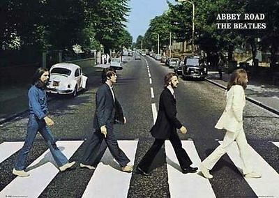 BEATLES - ABBEY ROAD POSTER - 24x36 - 42178
