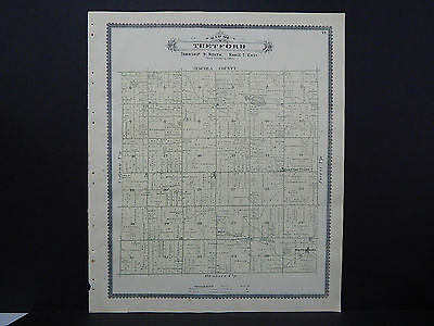 Michigan Antique Map 1889, Genesee County, Thetford Township J19#57